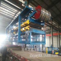 地鑫爆款销售980岩棉泡沫复合板机 两用复合板设备生产线