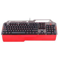 厂家直销虹龙K700极光网吧专用游戏电竞带手托机械键盘