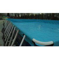 儿童泳池游乐支架水池 室外泳池洗澡池钢架式水池 休闲娱乐支架水池移动乐园