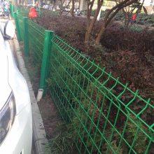 广州浸塑防护网 深圳三角折弯围栏网价格 惠州马路边护栏网