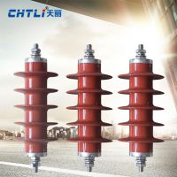 天丽 氧化锌避雷器HY5WR-17/45高压避雷器 电容型、电站型、配电型避雷器可选