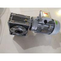 交流电动机匹配涡轮蜗杆减速机RV090/30-F2+2.2KW(100B14)