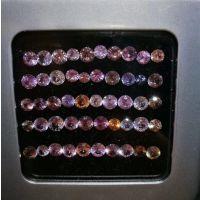 批发供应天然彩色各种形状蓝宝石可做首饰边镶群镶