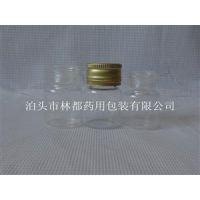 河北林都供应10毫升透明螺旋口口服液玻璃瓶