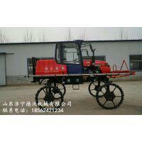 济宁德沃机械水旱两用型自走式喷杆喷药机国家补贴农机具