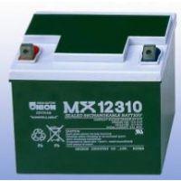 韩国友联UNION蓄电池MX12400 12V40AH矿场专用