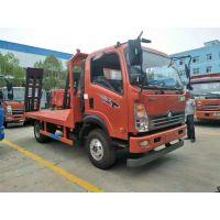 沧州解放前四后八挖机平板拖车厂家直销
