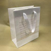 供应高档白牛皮印刷包装环保纸袋 定制手提纸袋 食品打包袋