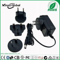 IEC60335家用电器类安全标准 xinsuglobal 12.6V1.5A可换插头锂电池充电器