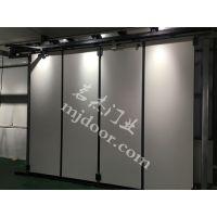 工业多扇折叠门 工业折叠门 电动折叠门厂家请选任丘茗杰门业