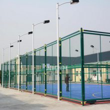 设计加工网球场护栏网工厂价 (国帆丝网)笼式足球场围网