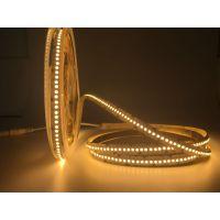 雅祺3528-240灯单排暖白裸板IP20 LED超高亮不防水软灯带 led软灯条