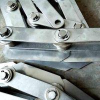 双节距不锈钢链条批发 高强度滚子链条节距 乾德