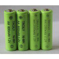 TROILY镍氢电池AA600mAh1.2V2.4V