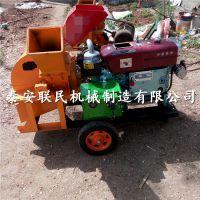 泰安联民供应移动式锯末粉碎机 行走式木屑粉碎机生产商