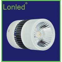 lonled 12W 隔离恒流宽压 COB 明装射灯 LED天花灯 质保三年