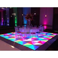 LED跳舞地板砖 亚克力地板 RGB DMX地砖