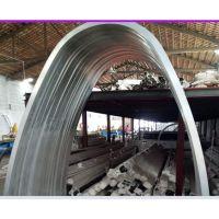 木纹工艺拉弯铝方通实力供应厂商