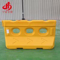 长期供应 可移动式吹塑水马 高品质围栏水马 环保黄色水马