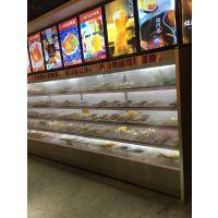 火锅店专用喷雾风幕柜多少钱-定做火锅专用加湿器冷柜