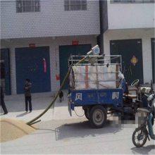 兴亚银川市小型螺旋软管吸粮机 散粮入仓输送机 移动式电动吸粮机