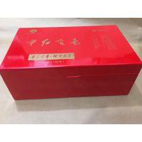 厂家现货批发茶叶木盒 茶叶木盒定做 高光油漆木盒 浙江木盒厂家