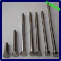 高强度制牙螺栓 1/2 5/8 3/8 中山螺丝生产批发