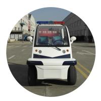 宝岛BD6042J电动巡逻车,游览车,48v4kw,整车尺寸3035*1400*1800,车身蓝白