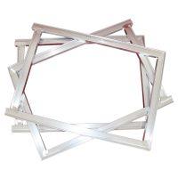 丝网印刷绷网铝网框厂家制作价格 批量价更优