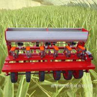 陕西拖拉机带苜蓿精播机 油菜播种机 草籽红萝卜精量播种机