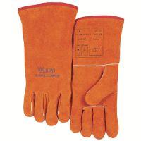 专业威特仕 10-2101 锈橙色斜拇指款电焊耐高温手套