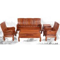 中山小户型沙发刺猬紫檀6件套5件套万字沙发图片价格