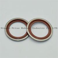 进口自动定芯组合垫圈宁波普瑞斯橡胶密封圈