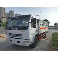 东风多利卡5米1二类危险品运输车液化气瓶运输车价格