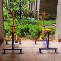 越秀区户外健身器材 单人落地健骑机 厂家直销价格更实惠