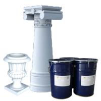 易佳三液体欧式GRC构件水泥制品模具硅胶缩水率低抗撕裂好