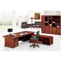 高调奢华老板桌,简约主管桌,天津办公家具
