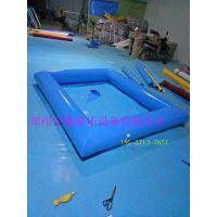 厂家供应pvc充气儿童游泳池,圆形充气水池 钓鱼池 手摇船