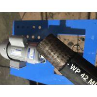 厂家供应液压油管压管机配套设备-油管快速电动剥皮机