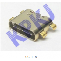 正反插USB快充口24P 3.1USB Type C连接器母座
