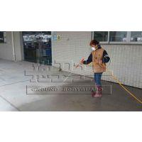 河南郑州户外水泥地面起砂怎么处理 -地卫士混凝土密封固化剂