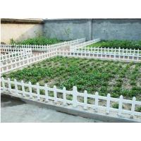 优质pvc草坪塑钢护栏 园艺花坛栅栏 别墅花园草坪护栏 户外绿化围栏