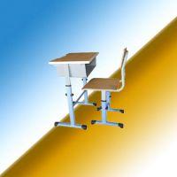 河北文学士课桌椅厂家可售大量学生课桌椅