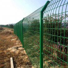 框架钢丝围栏网 新疆铁路护栏网 足球场围栏