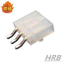 电脑PCB连接器 板对线4.2MM间距针座 单排插座连接器 深圳出货