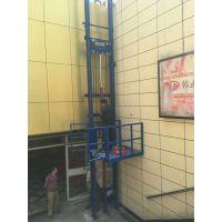 单杠单臂导轨式升降平台 500公斤电动液压升降机 简易式升降货梯厂家直销