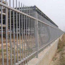 三横管热镀锌栅栏现货 佛山生活区防爬围墙围栏 江门水厂铁栅栏