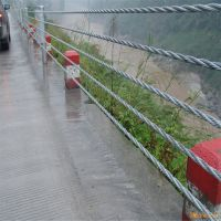 景区钢索护栏@钢索护栏生产厂家@缆索防撞护栏安装