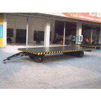 供应温州pbc牵引平板连挂车厂区平板车生产厂家