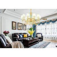 路易威登云石吊灯 通辽市个性时尚优雅款水晶吊灯 客厅灯具批发安装